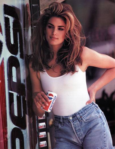 Cindy Crawford for Pepsi, 1992
