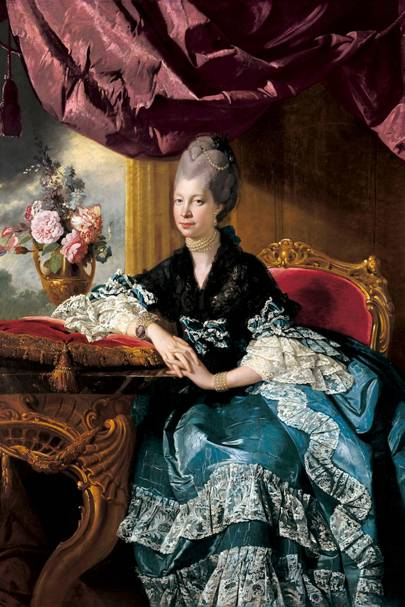 Queen Charlotte, wife of King George III