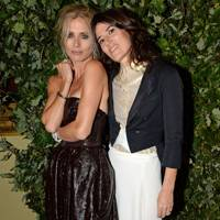 Laura Bailey and Bella Freud