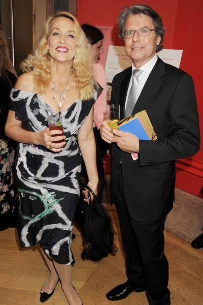 Jerry Hall and Warwick Hemsley