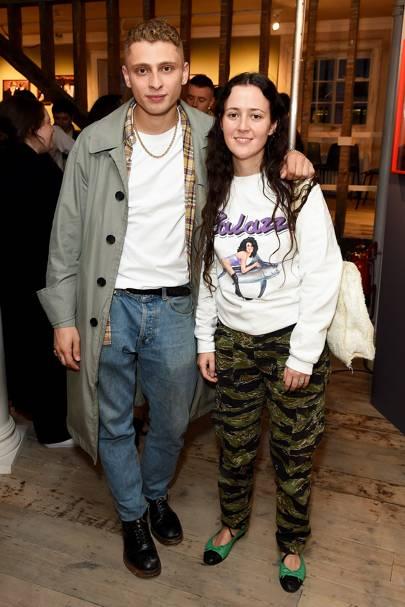 Blondey McCoy and Ashley Williams