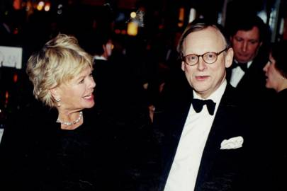 Mrs Neil Durden-Smith and John Gummer