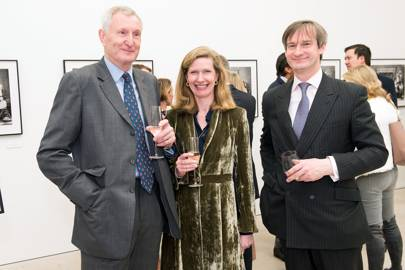 Andy Hickling, Annabel Rothwell and Gerald Rothwell
