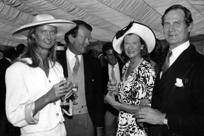 Alexia Robinson, Nigel Robinson, Mrs Nigel Robinson and Ray Slater