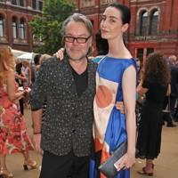 David Downton and Erin O'Connor