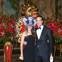Andres Santo Domingo and Coco Brandolini d'Adda