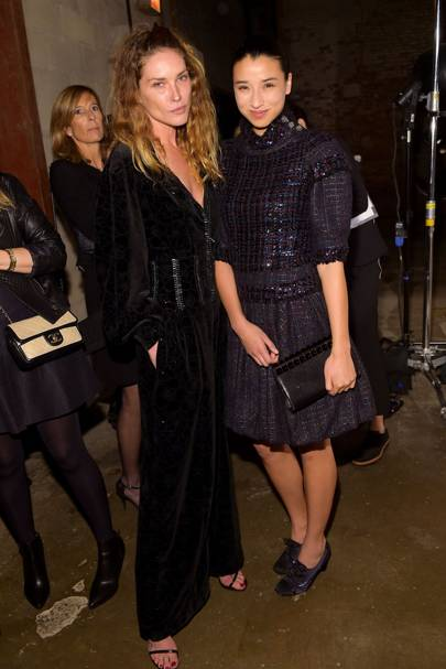 Erin Wasson and Lily Kwong