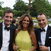 Nick English, Catherine English and Marcus Barnett