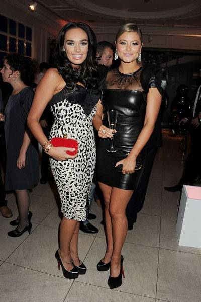 Tamara Ecclestone and Holly Valance