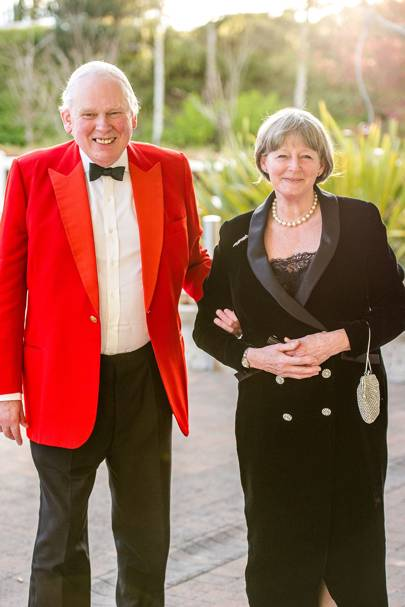Peter Cairns and Ann Cairns