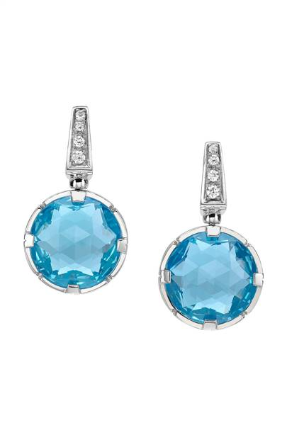 Blue topaz, rubellite and pave diamond necklace, £7,950, Bulgari