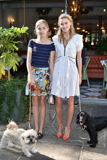 Freya Air Aspinall and Donna Air