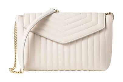 Leather bag, £850, by Salvatore Ferragamo