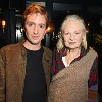 Luke Newberry and Dame Vivienne Westwood