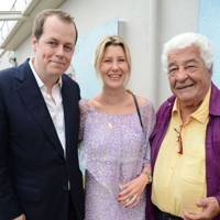 Tom Parker Bowles, Sara Buys and Antonio Carluccio