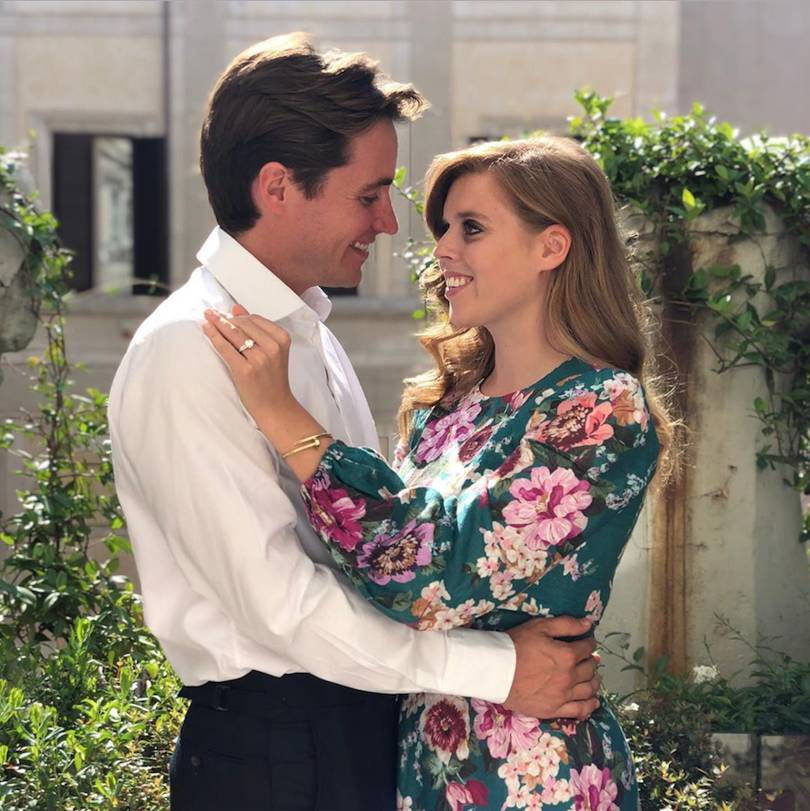 Princess Beatrice is engaged to Italian millionaire Edoardo Mapelli Mozzi