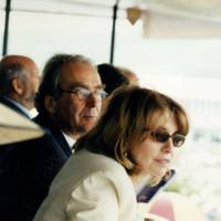 Gerald Scarfe and Mrs Gerald Scarfe