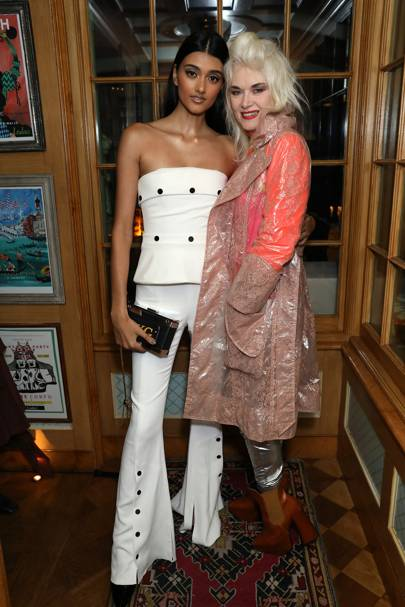 Neelam Gill and Pam Hogg