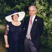 Mrs Kenneth Mustoe and Kenneth Mustoe