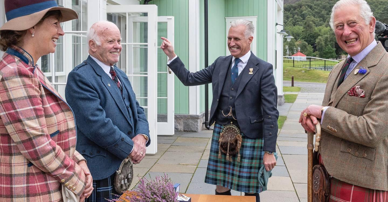 High(land) spirits: Cheerful Prince Charles opens Virtual Highland Games