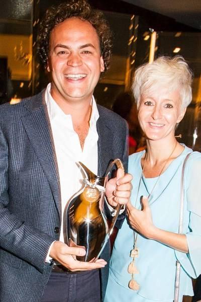 Aldo Melpignano and Patrizia Bortolin