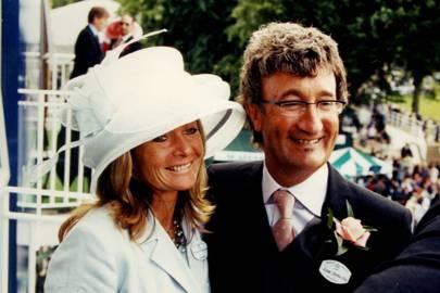 Mrs Simon Howard and Eddie Jordan