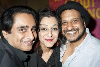 Sanjeev Bhaskar, Meera Syal and Kulvinder Ghir