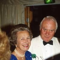 Lady Benson and Sir Christopher Benson