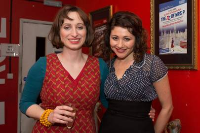 Frances Ruffelle and Isy Suttie