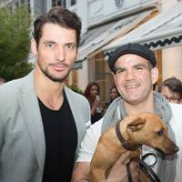 David Gandy and Barry Karacostas