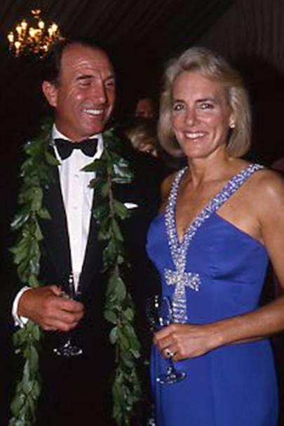 Captain Mark Phillips and Mrs Mark Phillips