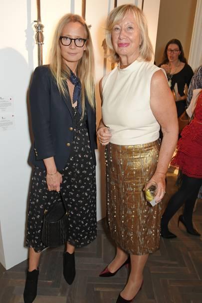 Martha Ward and Sylvie Chantecaille