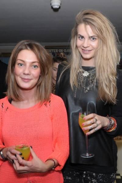 Jess Fildes and Natasha Danson