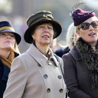 Autumn Phillips, The Princess Royal and Zara Tindall
