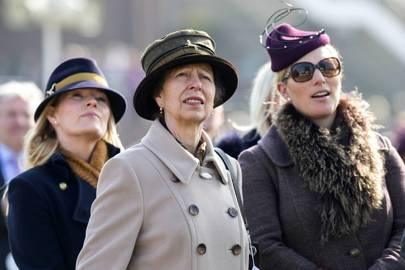 Autumn Phillips, The Princess Royal and Zara Tindall