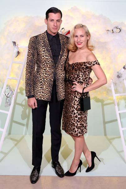 Mark Ronson and Charlotte Dellal