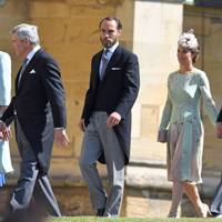 Carole Middleton, Michael Middleton, James Middleton, Pippa Middleton and James Matthews