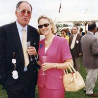 Baron Thierry van Zuylen and Mrs Arnaud Bamberger