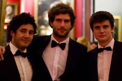 Florian Cascio, Alexandre Marcenac and Titouan Bouillard