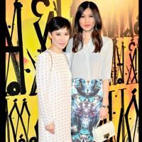 Sandra Choi and Gemma Chan