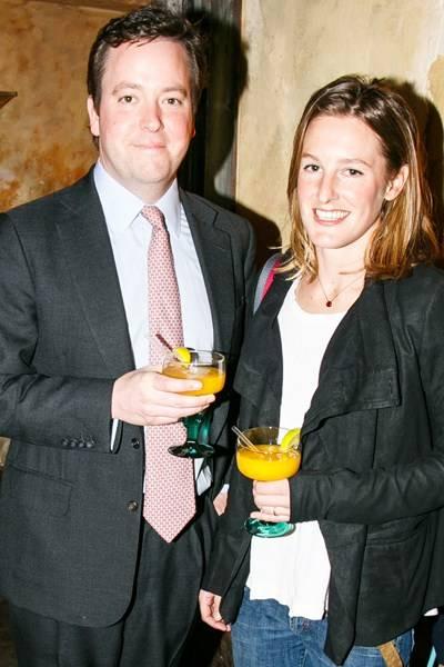 Patrick Valentine and Lady Katie Valentine