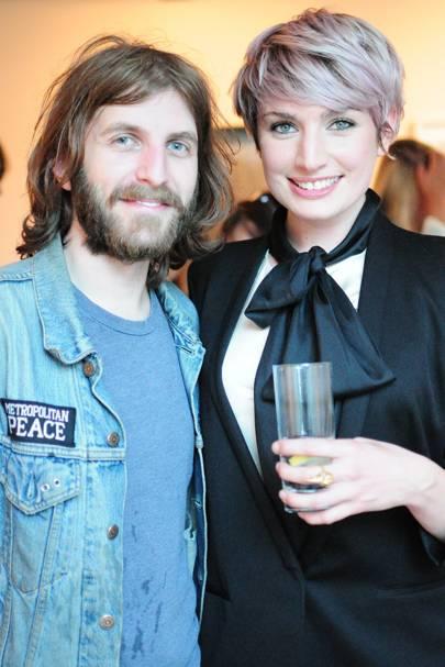 Hayden Kays and Victoria Williams