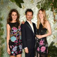 Rosanna Falconer, Matthew Williamson and Georgie Macintyre
