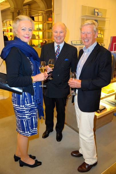 Jane Hudson, Norman Hudson and Nicholas Wilkins