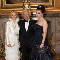 Ricky Lauren, Ralph Lauren and Helena Bonham Carter