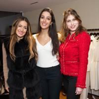 Aruna Seth, Joanna Abboud and Gisele Abboud