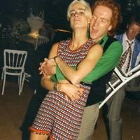Katinka Harrison and Damian Lewis