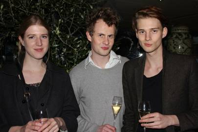 Gillian Orr, Samuel Muston and Max Wallis