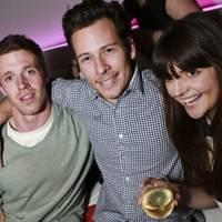 Tom Forster, Joshua de Lisser and Katie Braithwaite