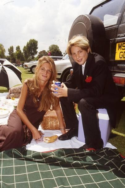 Mrs Imran Khan and Ben Goldsmith